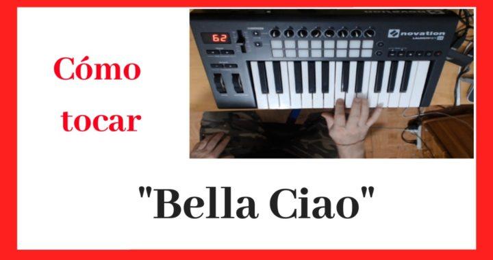 Como Tocar La Cancion de Bella Ciao en Piano Facil