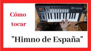Notas del Himno de España