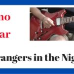 Strangers in the Night Notas Musicales Guitarra